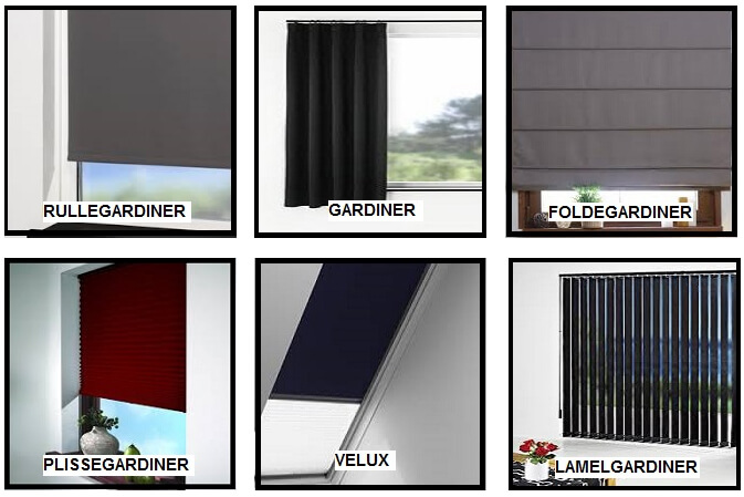 GARDINER ⇒ 1000-vis af gardiner online m. målgaranti & prisgaranti